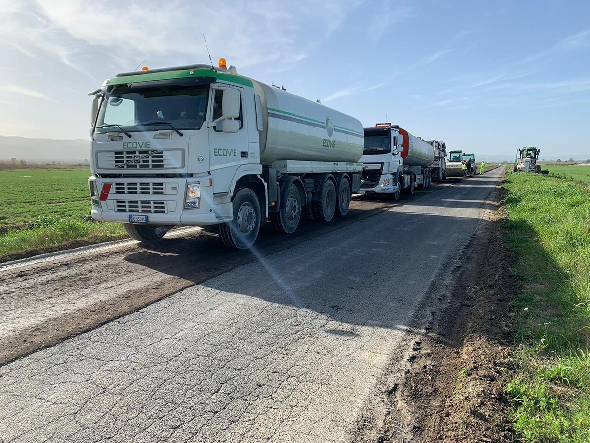 riciclaggio asfalto a freddo