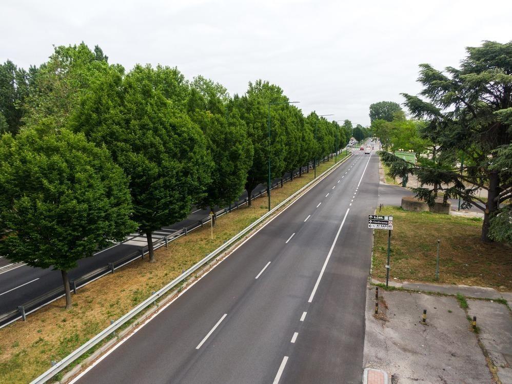 Pavimentazione stradale-aeroporto marconi