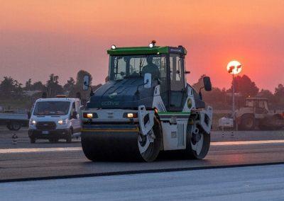pavimentazione stradale aeroporto marconi