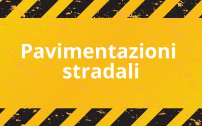 Pavimentazioni stradali: strato di base con emulsione bituminosa